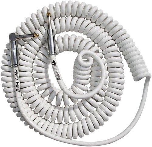 Bullet Cable - White 15'