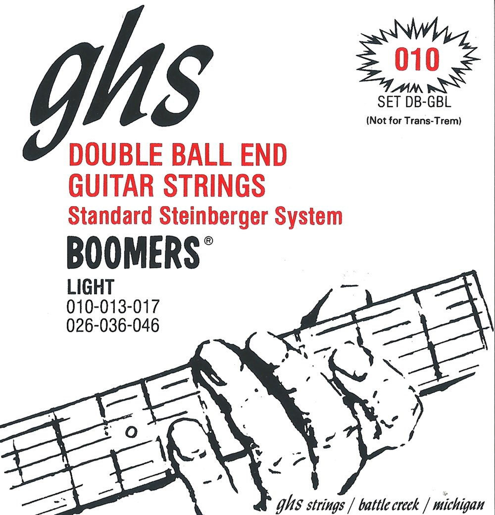 GHS DOUBLE BALL END STRING SET .010
