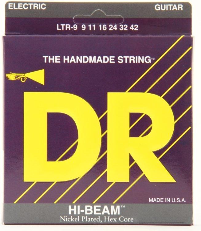 DR Hi-Beam Light Electric Guitar Strings- 9-42