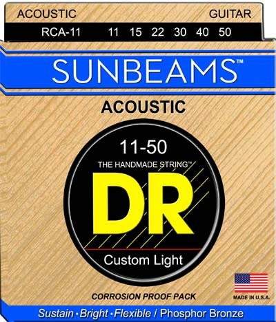 DR Sunbeam Acoustic Guitar Strings