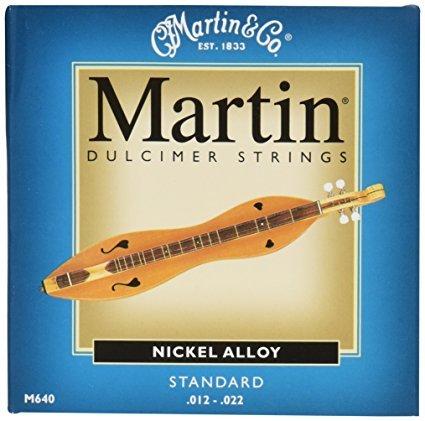 Martin Nickel Alloy Standard Dulcimer Strings .012-.022