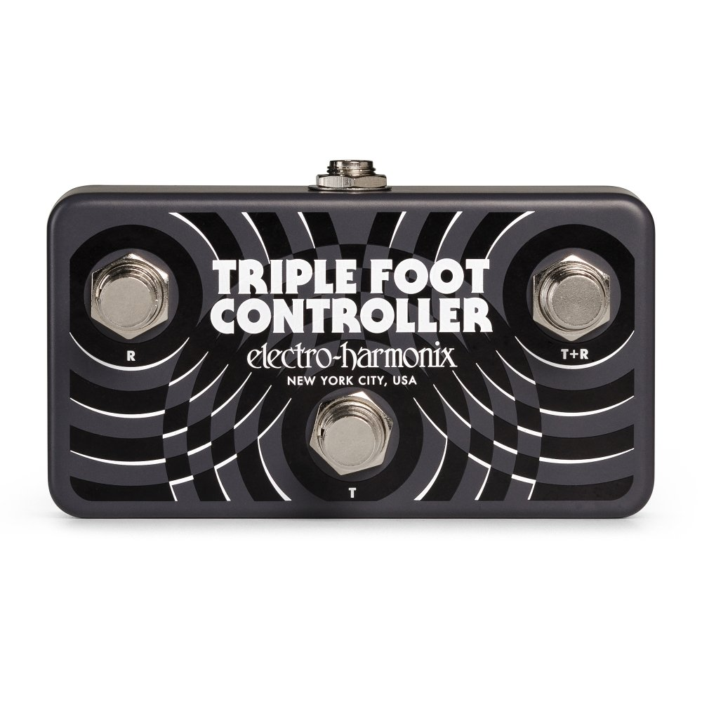 Electro-Harmonix Triple Foot Controller Remote Footswitch