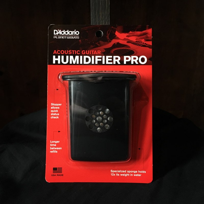 Guitar Humidifier Pro, by D'Addario