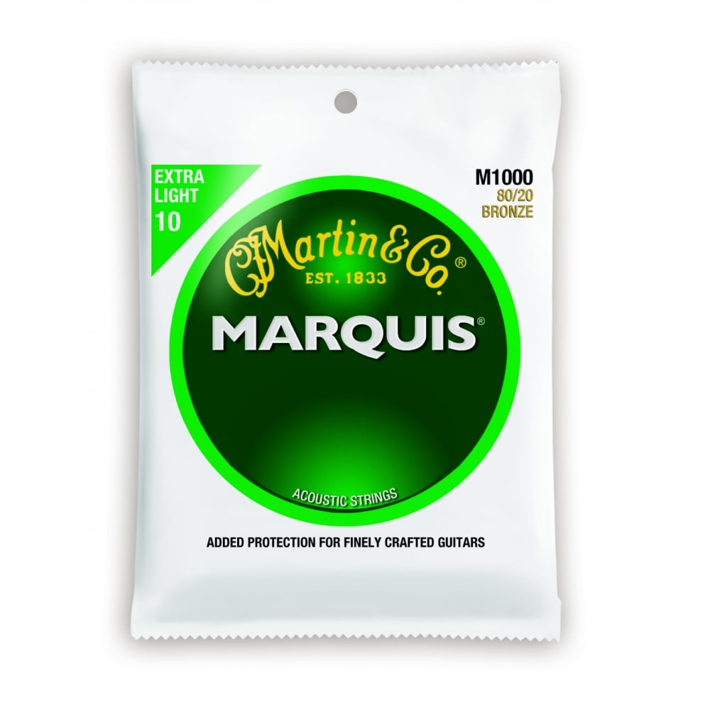 Martin Marquis Extra Light Acoustic Guitar Strings- 10-47