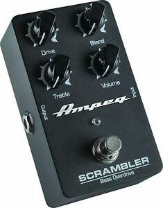 Amprg Scrambler Bass Overdrive Pedal