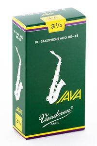 Vandoren Java Alto Sax #3.5 Reeds