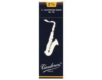 Vandoren Traditional Tenor Sax #2.5 Reeds