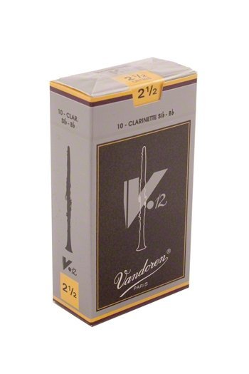 Vandoren V12 #2.5 Clarinet Reeds