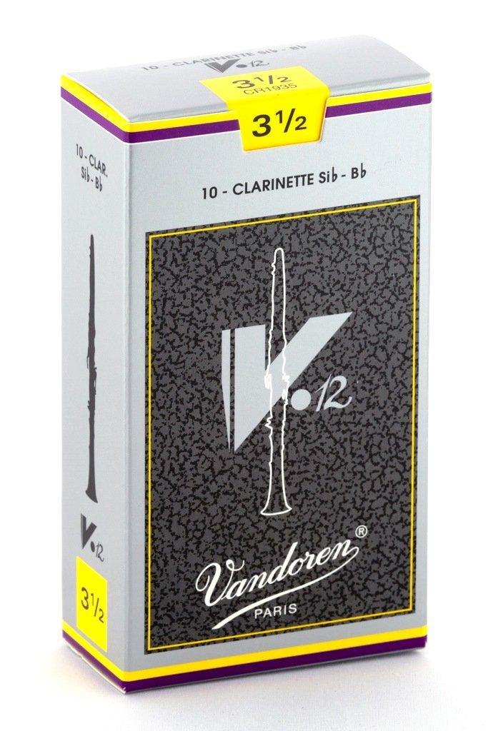 Vandoren V12 #3.5 Clarinet Reeds