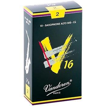 Vandoren V16 Alto Sax #2 Reeds