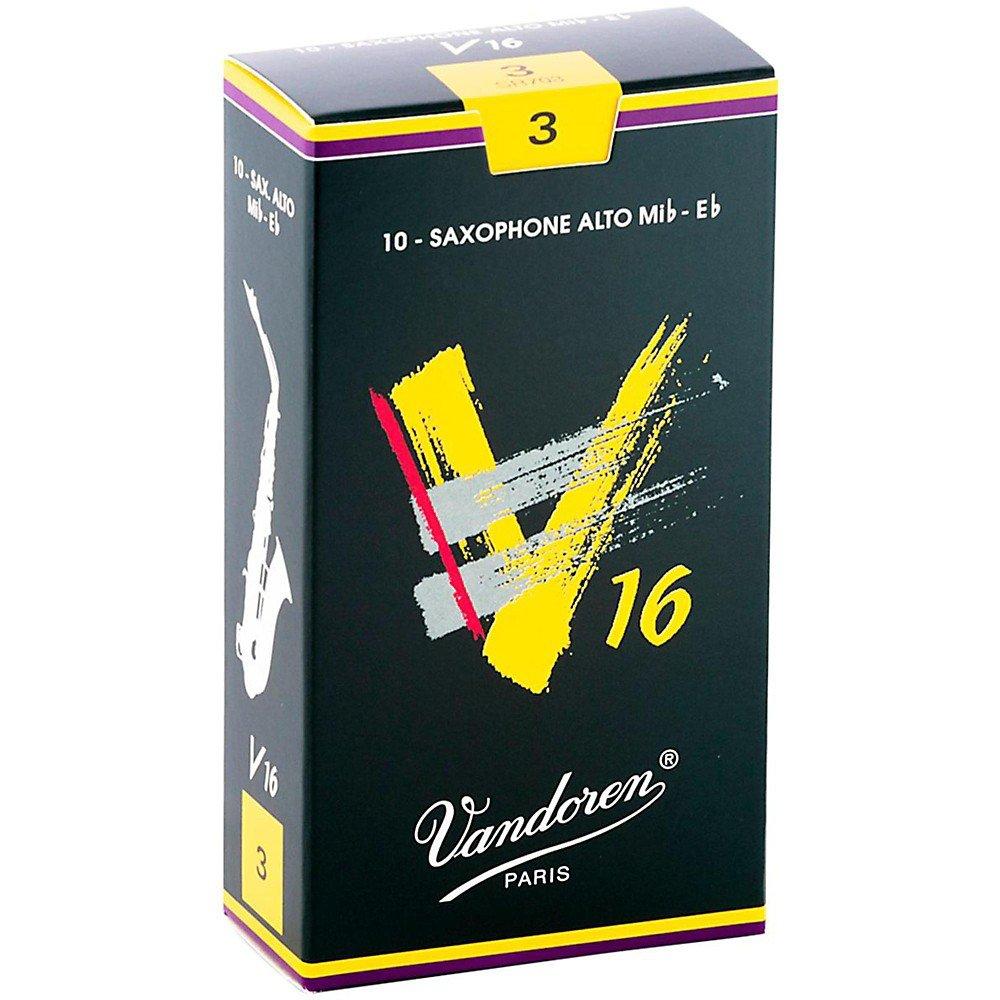 Vandoren V16 Alto Sax #3 Reeds