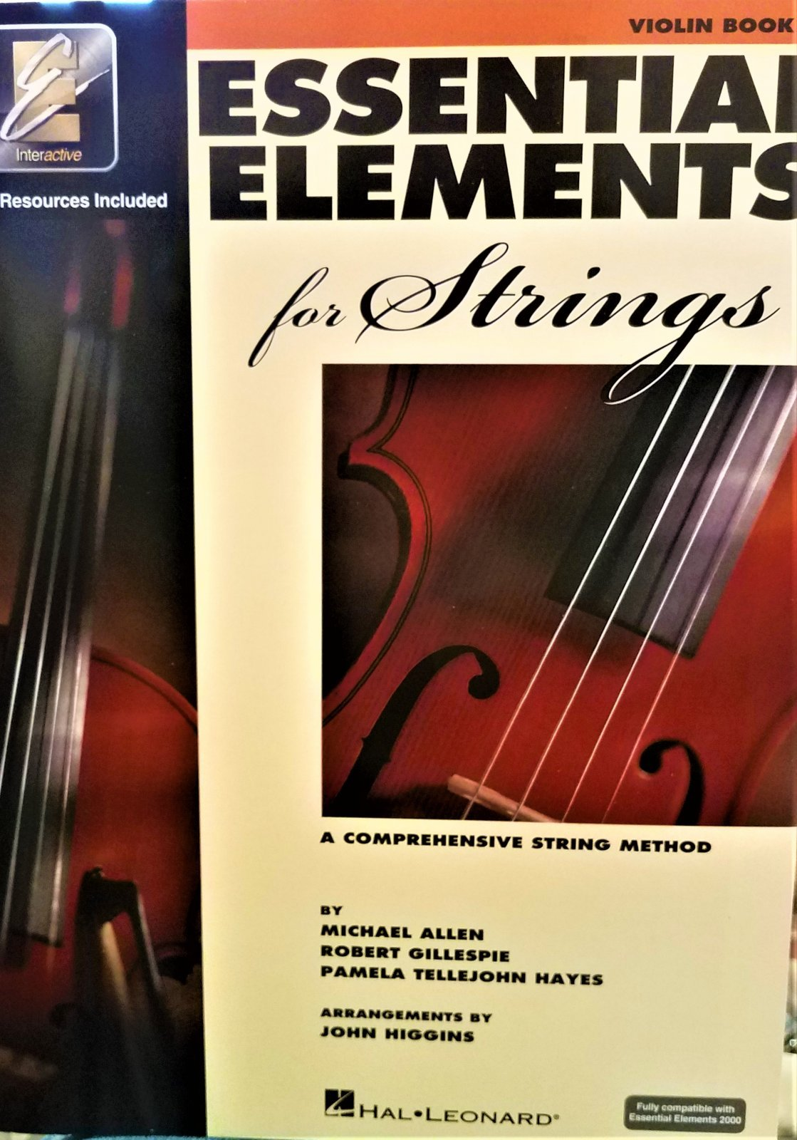 Essential Elements Violin, Book 1