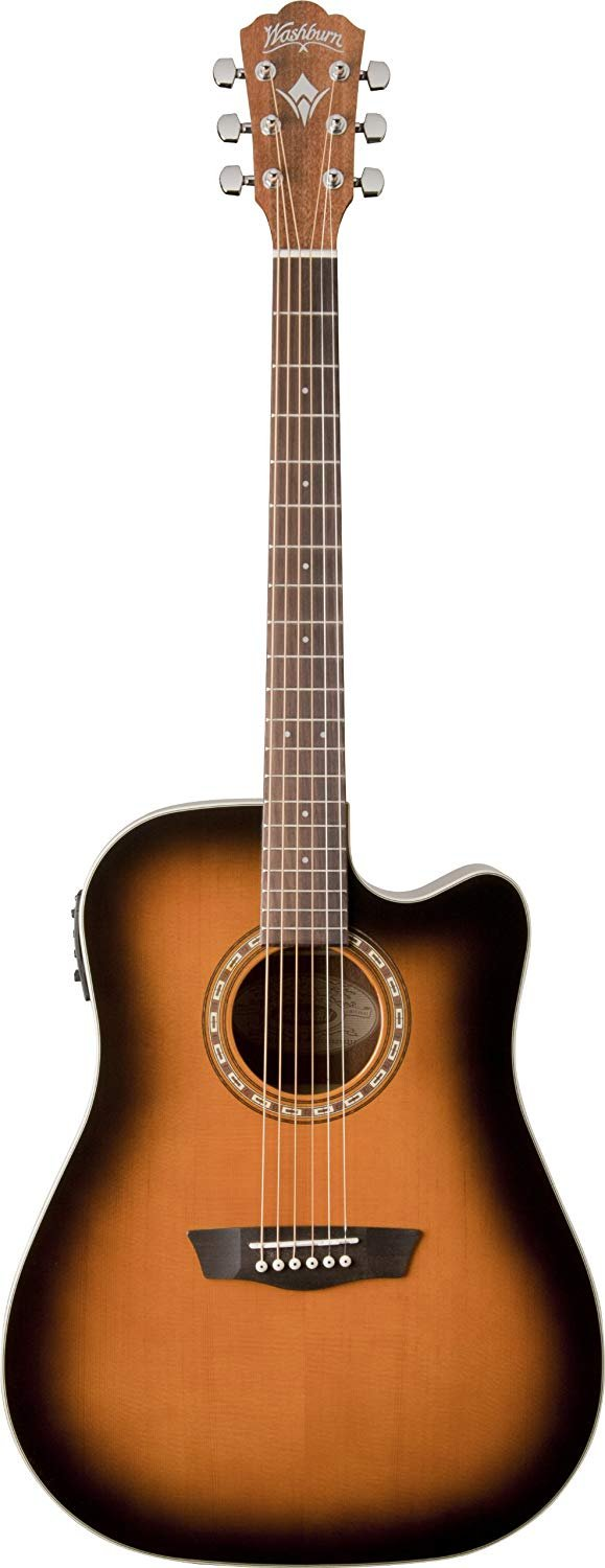 Washburn WD7SCE Dreadnought Acoustic/Electric