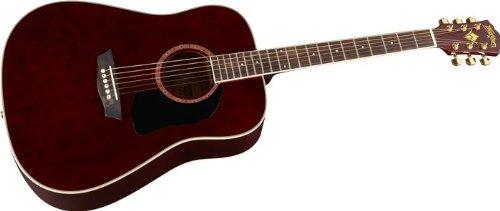 Washburn WD100DLTWRK Acoustic Guitar with Washburn Gig Bag