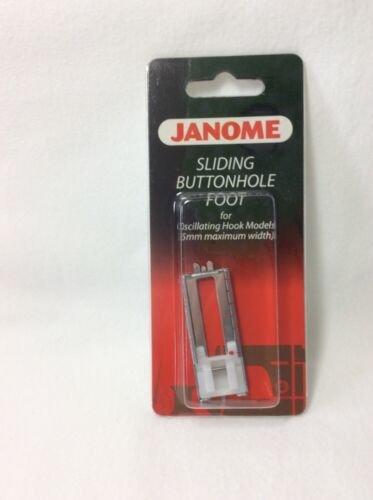 Janome Sliding Buttonhole Foot for Oscillating Hook Models (5mm Maximum Width