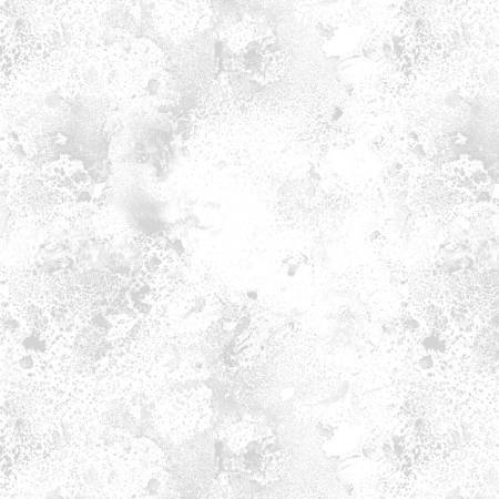 White on White  2 yd cut Cosmo 108in Wide Back