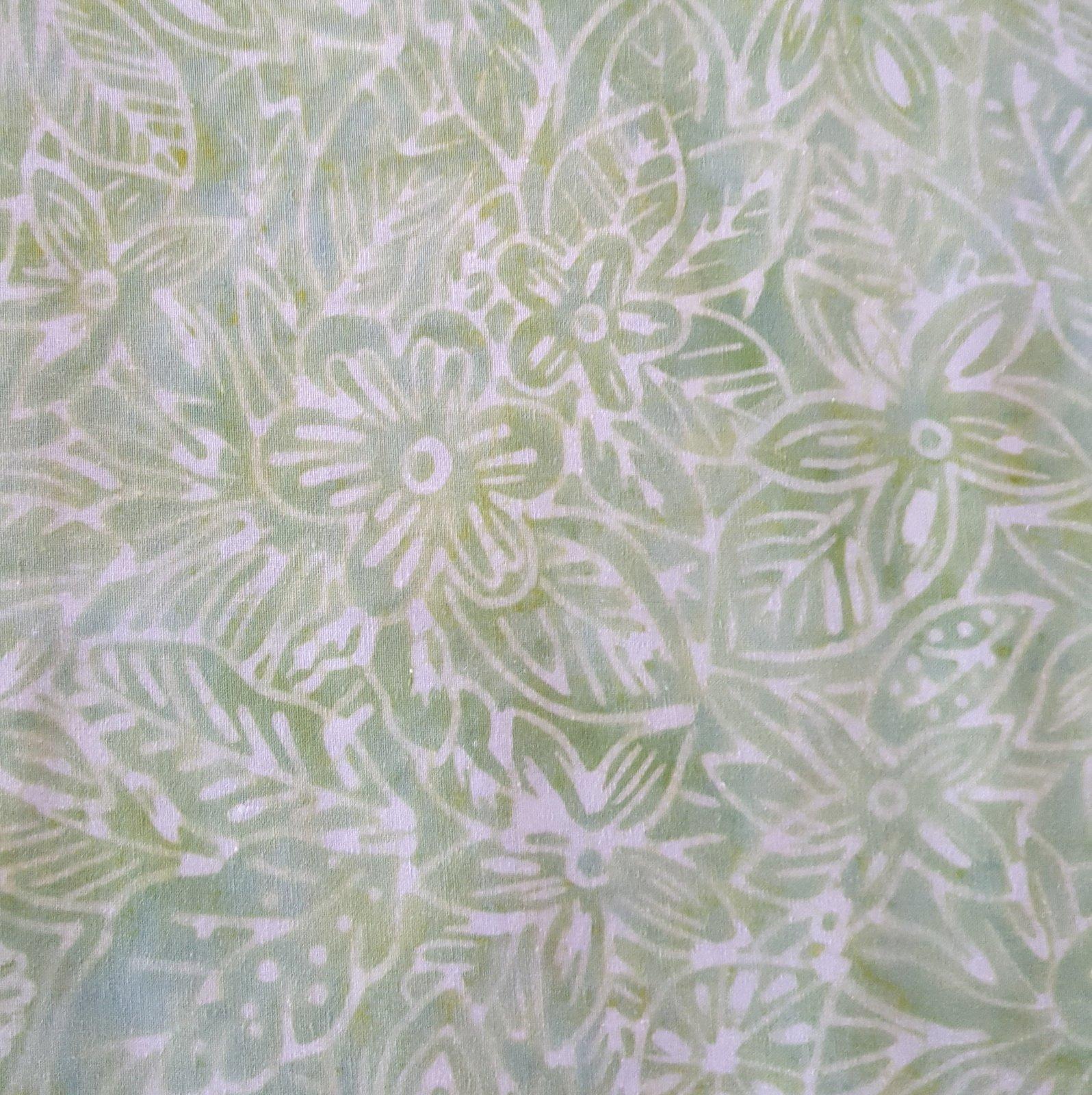 Clothworks Fresh Batiks: Botanica III