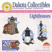 Lighthouses - Dakota Collectibles Embroidery Design Collection