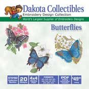 Butterflies - Dakota Collectibles Embroidery Design Collection