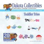 Toddler Trios - Dakota Collectibles Embroidery Design Collection