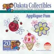 Applique Fun - Dakota Collectibles Embroidery Design Collection