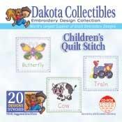 Children's Quilt Stitch -  Dakota Collectibles Embroidery Design Collection