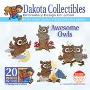 Awesome Owls - Dakota Collectibles Embroidery Design Collection