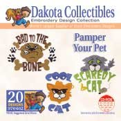Pamper Your Pet -  Dakota Collectibles Embroidery Design Collection
