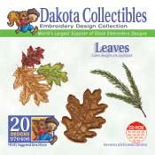 Leaves -  Dakota Collectibles Embroidery Design Collection