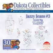 Jazzy Jeans 3 -  Dakota Collectibles Embroidery Design Collection
