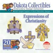 Christianity -  Dakota Collectibles Embroidery Design Collection