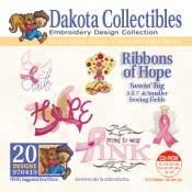 Ribbons Of Hope -  Dakota Collectibles Embroidery Design Collection