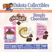 Simply Chocolate - Dakota Collectibles Embroidery Design Collection