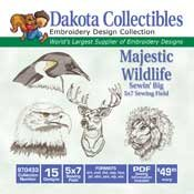 Majestic Wildlife  -  Dakota Collectibles Embroidery Design Collection