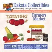 Farmers Market -  Dakota Collectibles Embroidery Design Collection