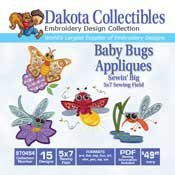 Baby Bugs - Dakota Collectibles Embroidery Design Collection