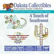 Touch Of Southwest - Dakota Collectibles Embroidery Design Collection