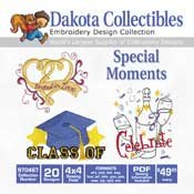 Special Moments - Dakota Collectibles Embroidery Design Collection