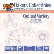Quilted Variety - Dakota Collectibles Embroidery Design Collection