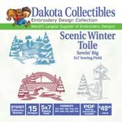 Winter Scenes - Dakota Collectibles Embroidery Design Collection