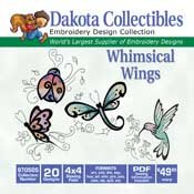 Whimsical Wings - Dakota Collectibles Embroidery Design Collection