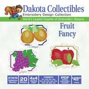 Fruit Fancy -  Dakota Collectibles Embroidery Design Collection