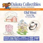 Old West - Dakota Collectibles Embroidery Design Collection