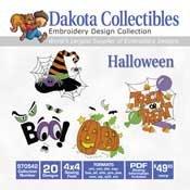 Halloween - Dakota Collectibles Embroidery Design Collection