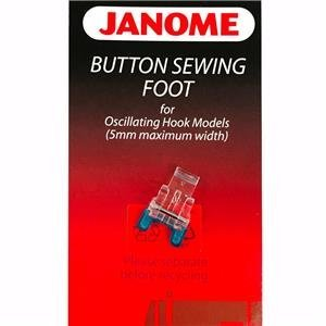 Janome Button Sewing Foot for Oscillating Hook Models