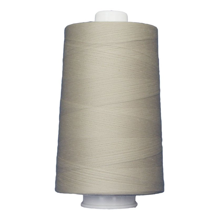 Omni #3004 Cream 6000 yds. Poly-wrapped poly core