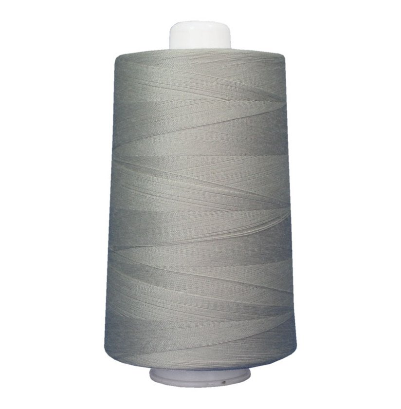 OMNI #3021 Ash Gray 6000 yds Poly-wrapped poly core