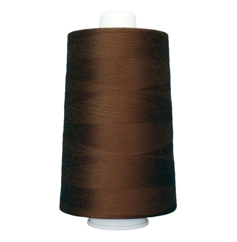 OMNI #3033 Root Beer 6000 yds Poly-wrapped poly core