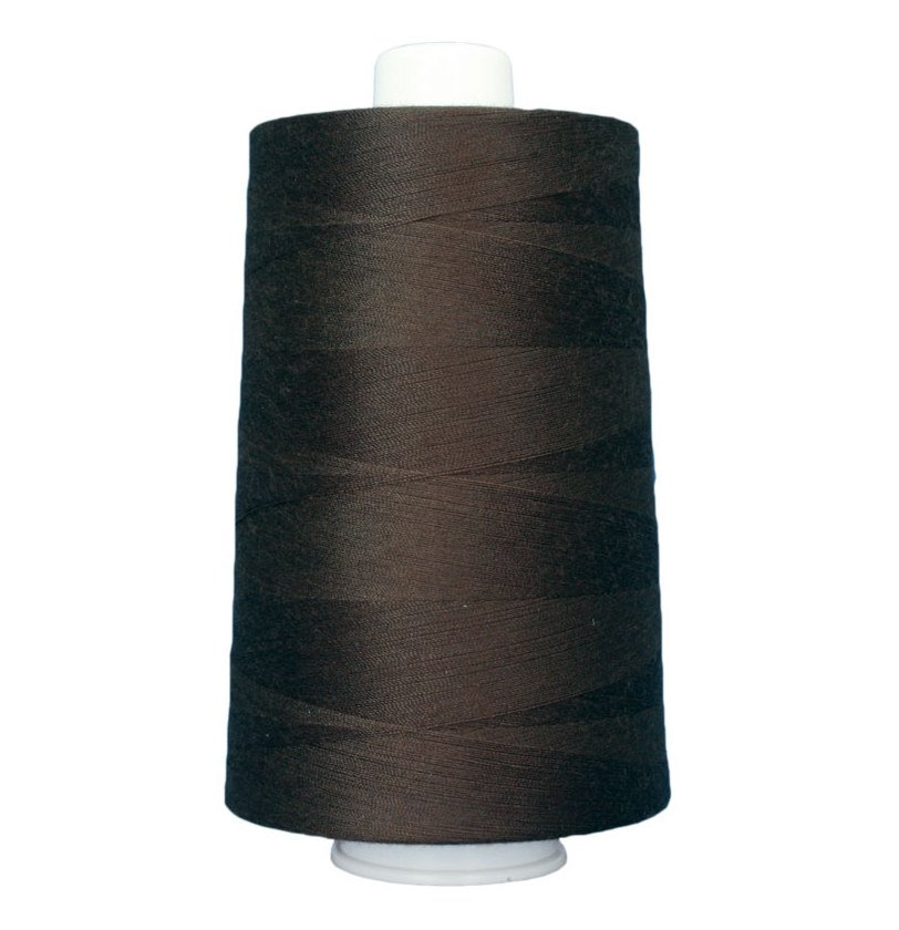 Omni #3037 Polyester Thread 40wt 6000yd Molasses