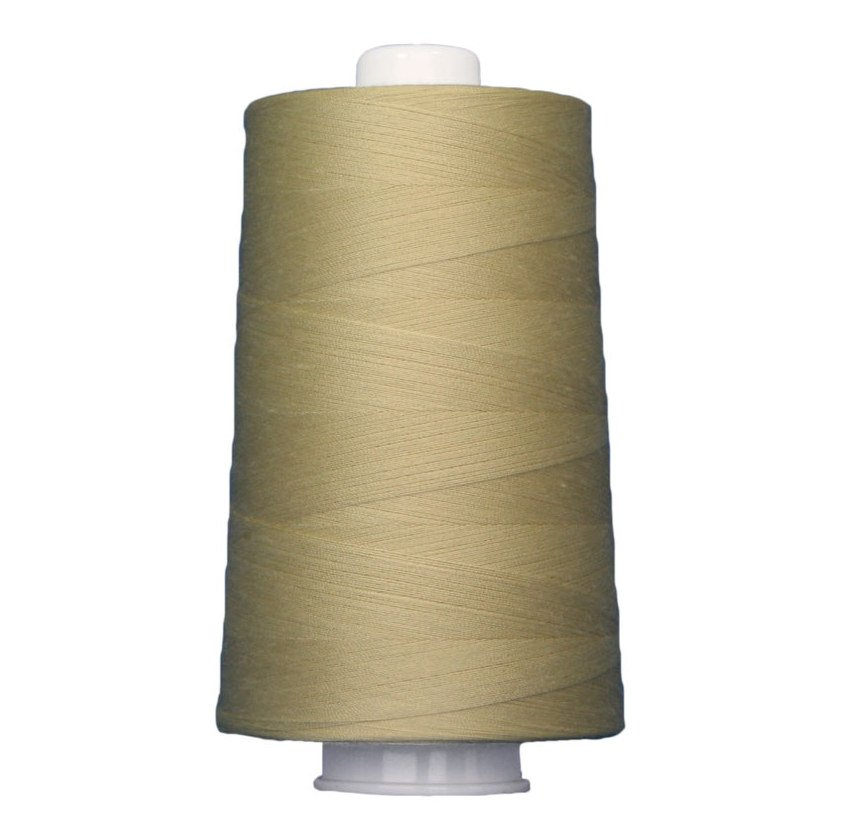 OMNI #3039 Lemon Cream 6000 yds Poly-wrapped poly core